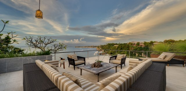 Villa The Luxe Bali, Penthouse Suite Terrace