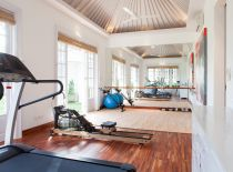 Villa The Cotton House, salle de gym